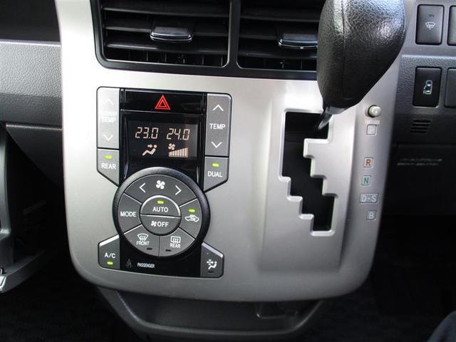 左右独立温度コントロールできるオートエアコン。Mポジュションに入れることで素早いシフトチェンジが可能な7速スポーツシーケンシャルモード付きCVTシフト