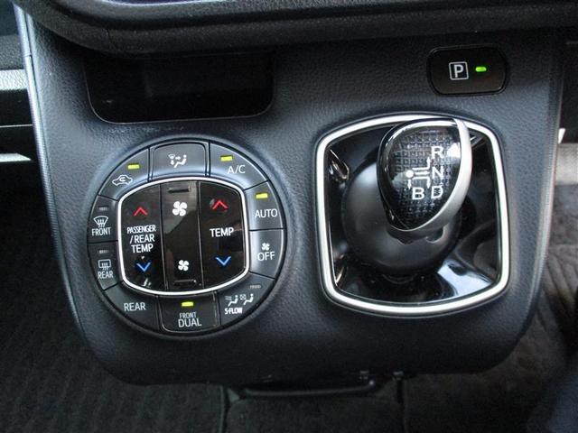運転席と助手席独立して温度調整可能なオートエアコン。指先の軽い操作できるエレクトロシフトマチック