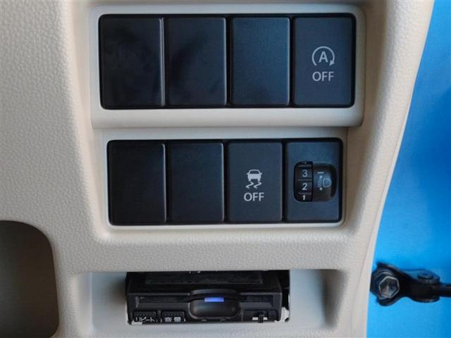 高速道路で便利なETCを装備してます。アイドリングストップ・横滑り防止装置も装備してます。