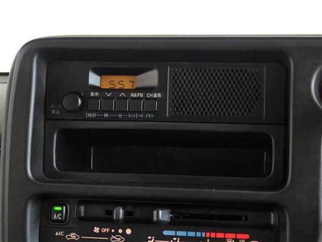 FM/AMラジオを搭載しています。