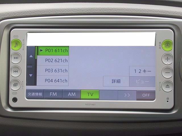 トヨタ ヴィッツ 1.0F 1年保証 ワンセグメモリーナビ 点検記録簿