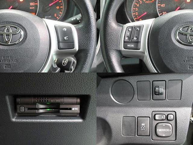 トヨタ ラクティス 1.3X SDナビ ワンセグ ETC