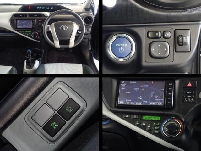 運転席周りの写真です。スマートエントリーシステム・オートエアコンを装備してます。