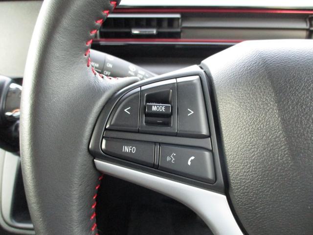 ハイブリッドX 禁煙車 LEDヘッドライト オートハイビーム フォグランプ     衝突被害軽減 車線逸脱警報 アルミホイール シートヒーター ヘッドアップディスプレイ 10023km ステアリングリモコンスイッチ(6枚目)