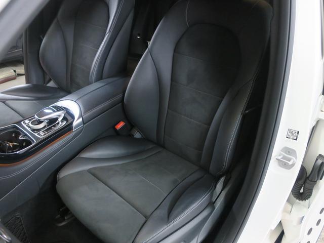 GLC250 4マチックスポーツ レーダーセーフティ ヘッドアップディスプレイ 360度カメラ 純正ハーフレザースポーツシート パワーシート シートヒーtター 純正サイドステップ 純正AMG19インチアルミ 純正AMGスポイラー(17枚目)