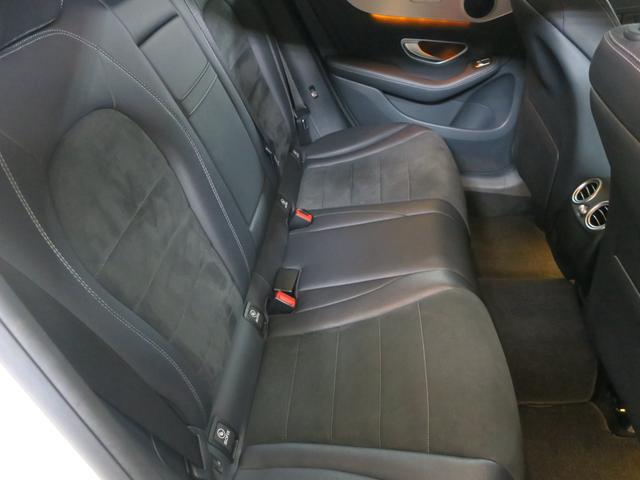 GLC250 4マチックスポーツ レーダーセーフティ ヘッドアップディスプレイ 360度カメラ 純正ハーフレザースポーツシート パワーシート シートヒーtター 純正サイドステップ 純正AMG19インチアルミ 純正AMGスポイラー(18枚目)