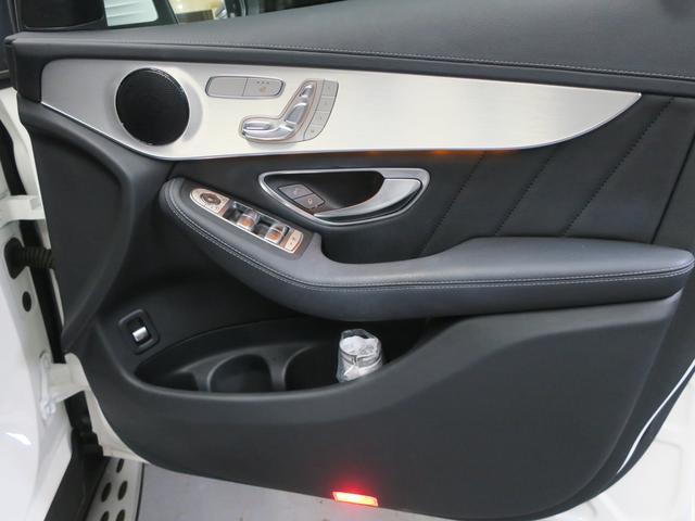 GLC250 4マチックスポーツ レーダーセーフティ ヘッドアップディスプレイ 360度カメラ 純正ハーフレザースポーツシート パワーシート シートヒーtター 純正サイドステップ 純正AMG19インチアルミ 純正AMGスポイラー(19枚目)