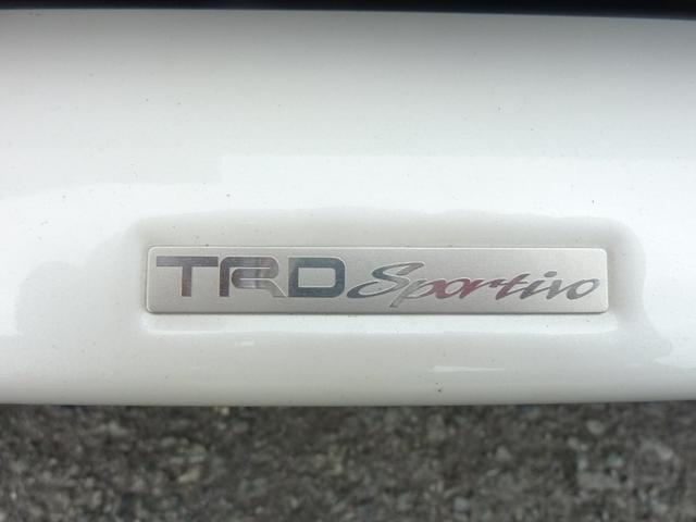 TRDフロントスポイラーかっこいいです!