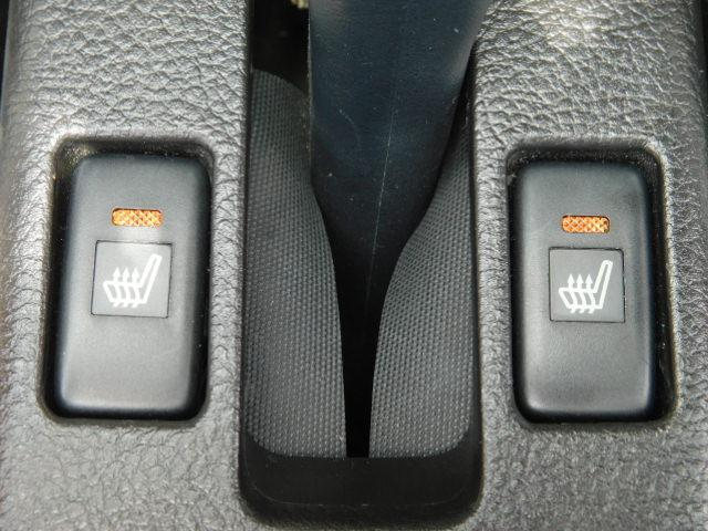 便利なシートヒーター
