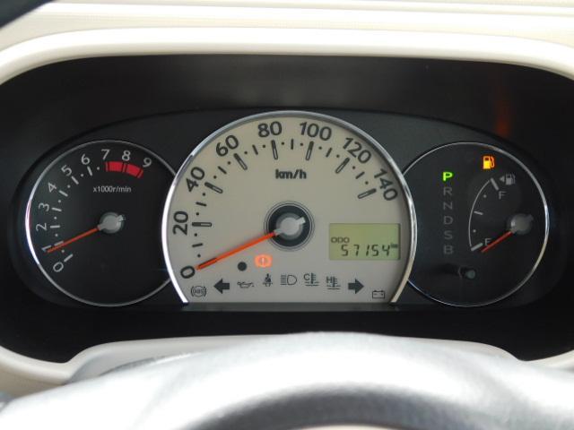 ココアXスペシャルコーデ ワンオーナー フルセグ内蔵メモリーナビ ETC キーフリー 走行距離57,154km(17枚目)