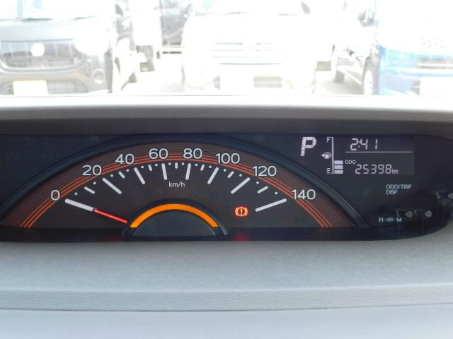 X SA ワンオーナー車 キーフリー 左側パワースライドリヤドア 走行距離25,398km(17枚目)