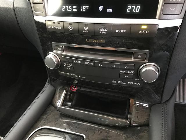 レクサス LS LS600h Iパッケージ 22AW 黒革 SR ナビTV