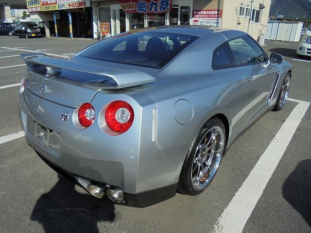 日産 GT-R プレミアムエディション 純正ナビ アドバンレーシング20AW