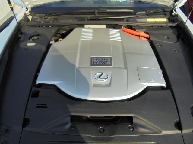 レクサス LS LS600h Iパッケージ サンルーフ 黒革エアシート