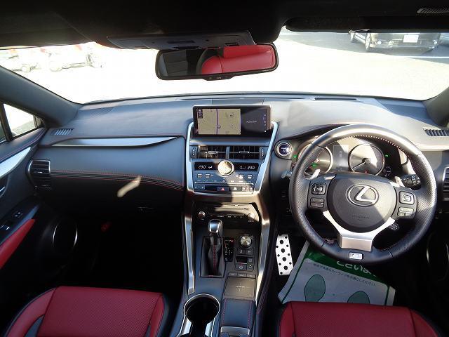 NX300h Fスポーツ ムーンルーフ 専用本革シート 10.3型ナビ フルセグ DVD パノラミックビューモニター ETC ワンオーナー 禁煙車(2枚目)