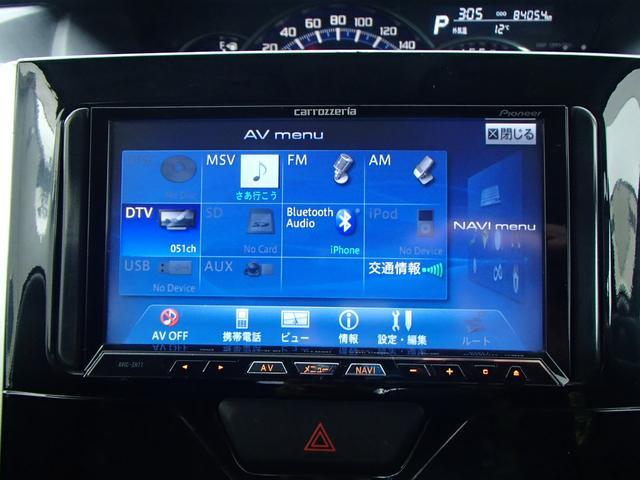 ダイハツ タント カスタムX HDDナビフルセグ エコアイドル 電動スライド