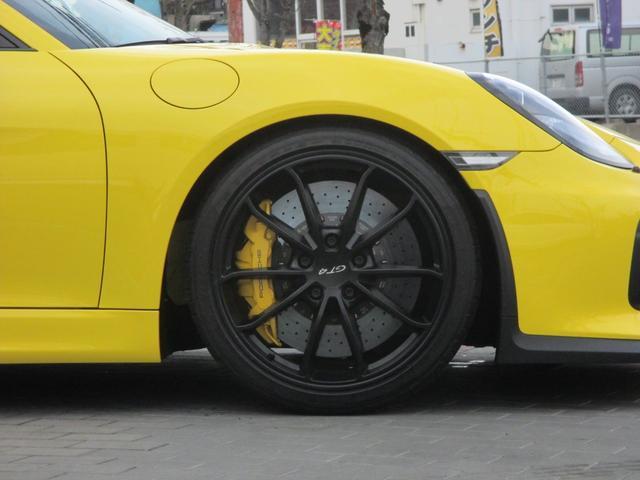 ポルシェ ポルシェ ケイマン GT4 PCCB スポーツクロノP レザーインテリアP