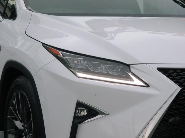 RX450h Fスポーツ AWD ルーフレール+パノラマルーフ アダプティブハイビーム インテリジェントクリアランスソナー 寒冷地仕様 パノラミックビュー BSM おくだけ充電 セカンド電動シート+ヒーター TOM'Sエアロ(7枚目)