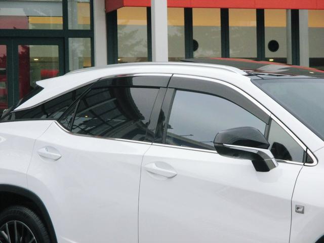 RX450h Fスポーツ AWD ルーフレール+パノラマルーフ アダプティブハイビーム インテリジェントクリアランスソナー 寒冷地仕様 パノラミックビュー BSM おくだけ充電 セカンド電動シート+ヒーター TOM'Sエアロ(17枚目)