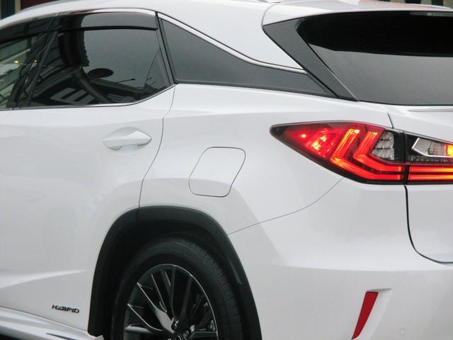 RX450h Fスポーツ AWD ルーフレール+パノラマルーフ アダプティブハイビーム インテリジェントクリアランスソナー 寒冷地仕様 パノラミックビュー BSM おくだけ充電 セカンド電動シート+ヒーター TOM'Sエアロ(24枚目)