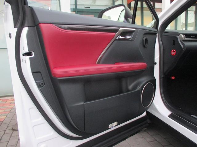 RX450h Fスポーツ AWD ルーフレール+パノラマルーフ アダプティブハイビーム インテリジェントクリアランスソナー 寒冷地仕様 パノラミックビュー BSM おくだけ充電 セカンド電動シート+ヒーター TOM'Sエアロ(40枚目)