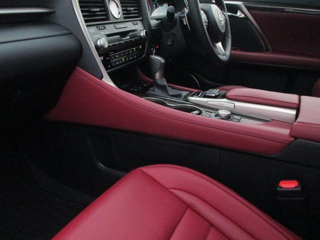 RX450h Fスポーツ AWD ルーフレール+パノラマルーフ アダプティブハイビーム インテリジェントクリアランスソナー 寒冷地仕様 パノラミックビュー BSM おくだけ充電 セカンド電動シート+ヒーター TOM'Sエアロ(45枚目)
