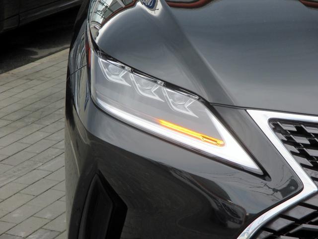 RX450h バージョンL パノラマルーフ ルーフレール おくだけ充電 セミアニリンブラックレザーシート パノラミックビュー ブラインドスポットモニター 三眼フルLEDライト ヘッドアップディスプレイ 後席パワーシート(9枚目)