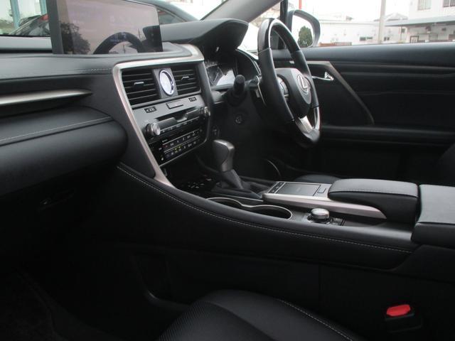 RX450h バージョンL パノラマルーフ ルーフレール おくだけ充電 セミアニリンブラックレザーシート パノラミックビュー ブラインドスポットモニター 三眼フルLEDライト ヘッドアップディスプレイ 後席パワーシート(45枚目)
