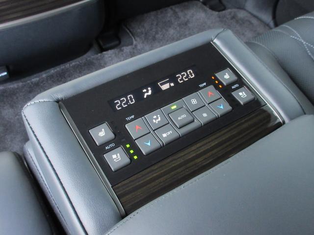 LX570ブラックシークエンス ワンオーナー 特別仕様車 8人乗り三列シート TRD21インチAW マークレビンソンサウンド セミアニリン本革シート(ダイヤモンドステッチ) シートヒーター・ベンチレーション パノラミックビューモニタ(16枚目)