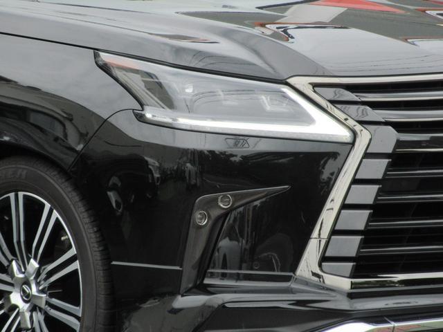 LX570ブラックシークエンス モデリスタエアロ ガナドールマフラー マークレビンソン リヤシートエンターテイメント ダイヤモンドステッチ本革シート ムーンルーフ 三眼LEDヘッドライト パノラミックビュー(6枚目)