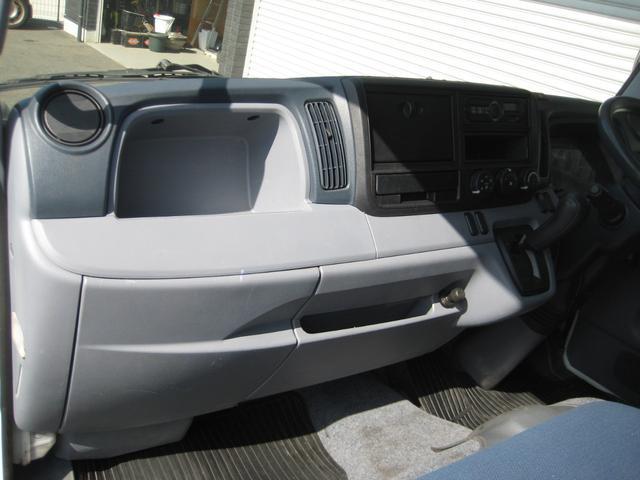 Wキャブ 全低床 カスタムメッキ リヤヒーター 最大積載1500Kg 走行10000Km(19枚目)