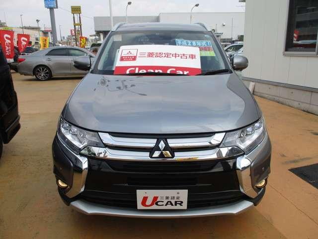 2.4 24G ナビパッケージ 4WD 三菱認定中古車保証付(4枚目)