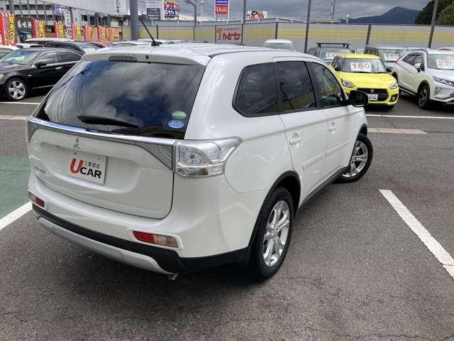 三菱の中古車保証は全国の三菱ディーラー対応で安心です。