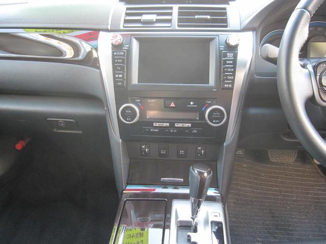 トヨタ カムリ ハイブリッド レザーパッケージ ナビ フルセグ 2年保証