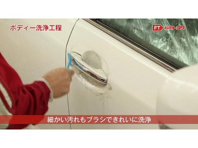 ワックスが残っていたりするドアノブ周辺もやわらかいブラシで丁寧に洗浄しています。
