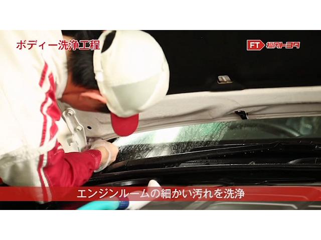 気づいたときには汚れているエンジンルーム内もきれいに洗浄します。洗浄後はピカピカです。