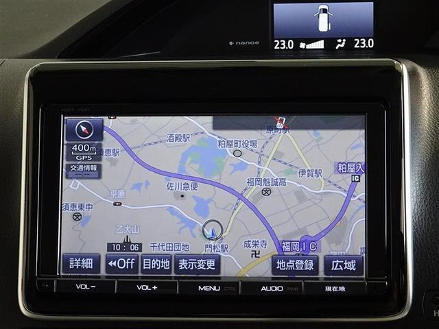 トヨタ エスクァイア Gi メモリーナビ フルセグ DVD バックモニター ETC