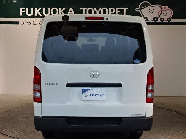 トヨタ ハイエースバン DX ガソリン車 CD