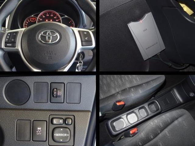運転席周りの写真です。高速道路で便利なETCを装備してます。