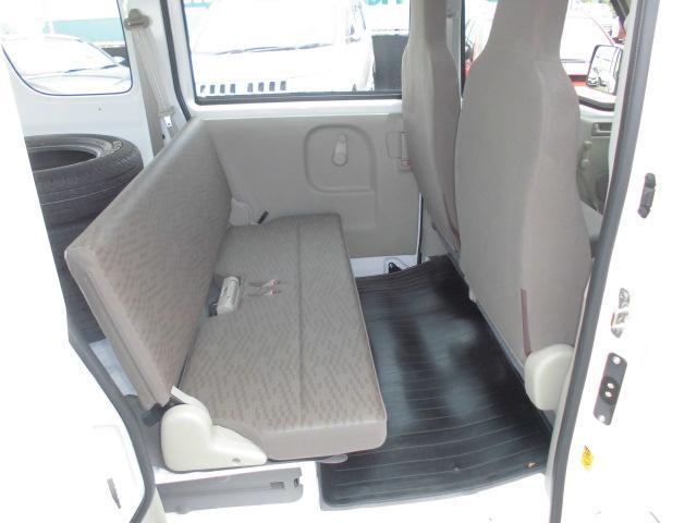 PC ダイヤモンド保証 新車保証継承車 禁煙 両席エアバック エアB 切替式4WD ABS エアコン PS 両側手動スライドドア 1オナ(25枚目)