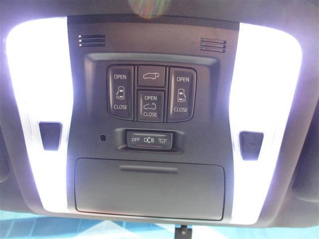 両側電動スライドドアスイッチとパワーバックドアスイッチ