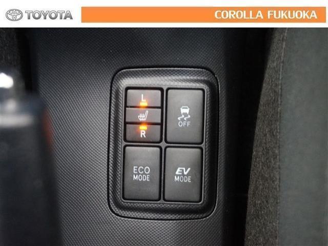シートヒーターは、寒い日のドライブも快適に!肩や腰、寒い日に冷えやすい脚部に快適なぬくもりを伝えます。