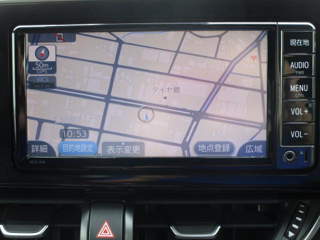 トヨタ C-HR G 自動ブレーキ支援 地デジSDナビ クルーズコントロール