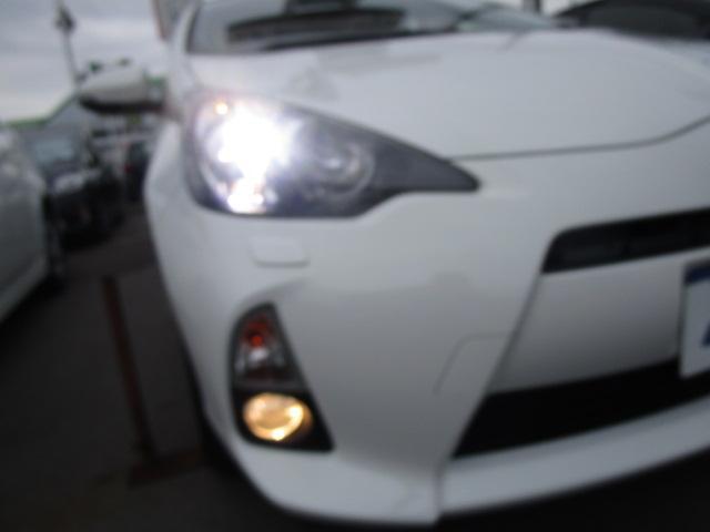 トヨタ アクア S 1年保証 地デジSDナビ LEDライト スマートキー