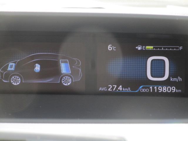 Sツーリングセレクション 真紅のプリウスSツーリング ブルートゥース付きSDナビ シートヒーター ETC装備満載 快適なドライブをどうぞ(26枚目)