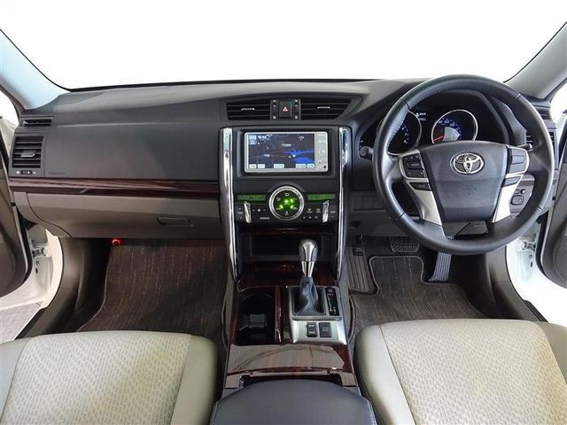 トヨタ マークX 250G リラックスセレクション 1年保証 ワンセグナビ