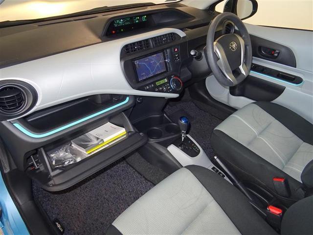 トヨタ アクア S メモリーナビ ETC フルセグTV