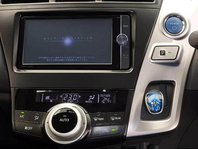 トヨタ プリウスα 1.8 S ツーリングセレクション 純正メモリーナビ ETC L