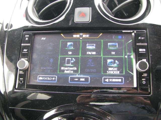ナビにはBluetoothオーディオに加えて、録音機能やFM、AM、フルセグTV、CD、DVDといった機能も付いているので、ドライブをより楽しんでいただくことができますよ♪