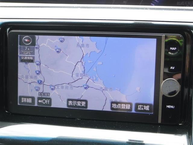 アエラス 4WD メモリーナビ 後席モニター フルセグTV バックカメラ ETC スマートキー 両側パワースライドドア 純正アルミ HIDヘットライト ワンオーナー(10枚目)